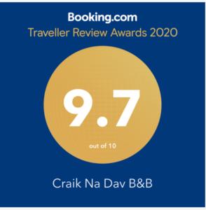 Booking.com - Traveller Review Awards 2020