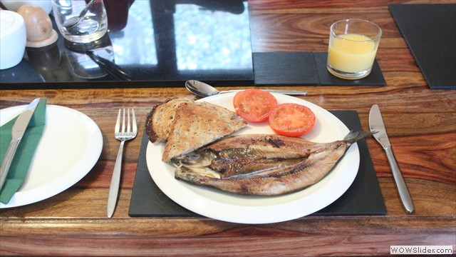 Traditional Scottish Kipper Breakfast